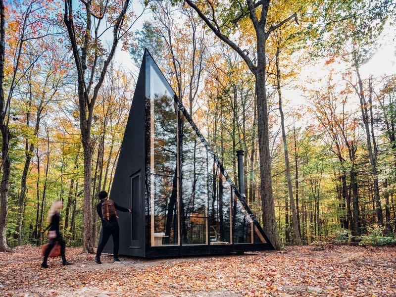 کلبه جنگلی مدرن