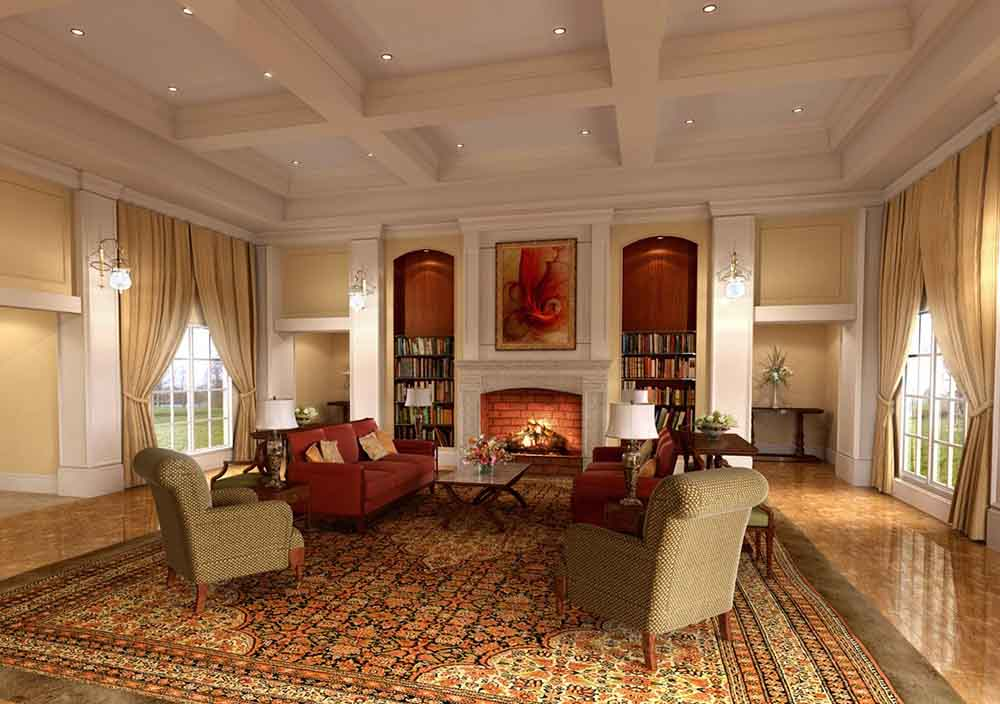 ایده های طراحی داخلی کلاسیک