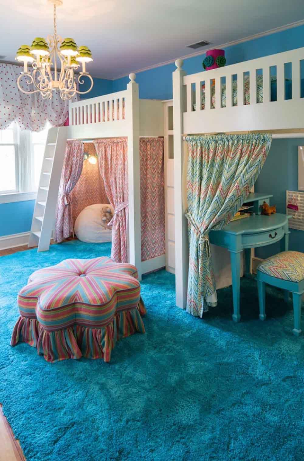 تختخواب و اتاق کودک