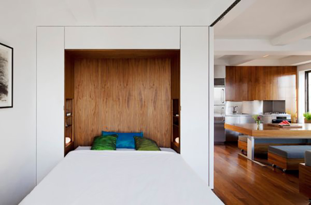 تختخواب کمجا مدرن