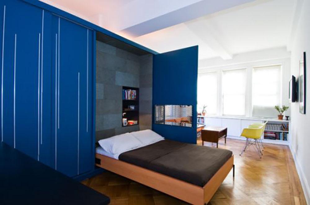 تختخواب کمجا برای حفظ فضا