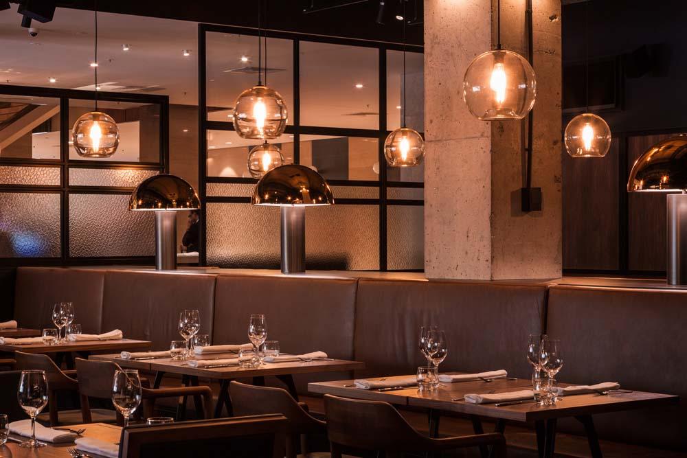 نورپردازی در طراحی داخلی رستوران